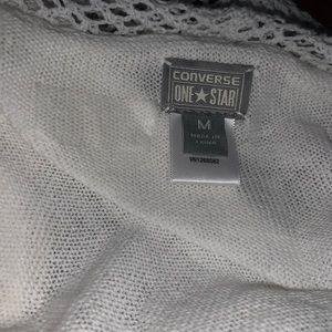 Super cute white ' Converse' cardigan. ⭐️